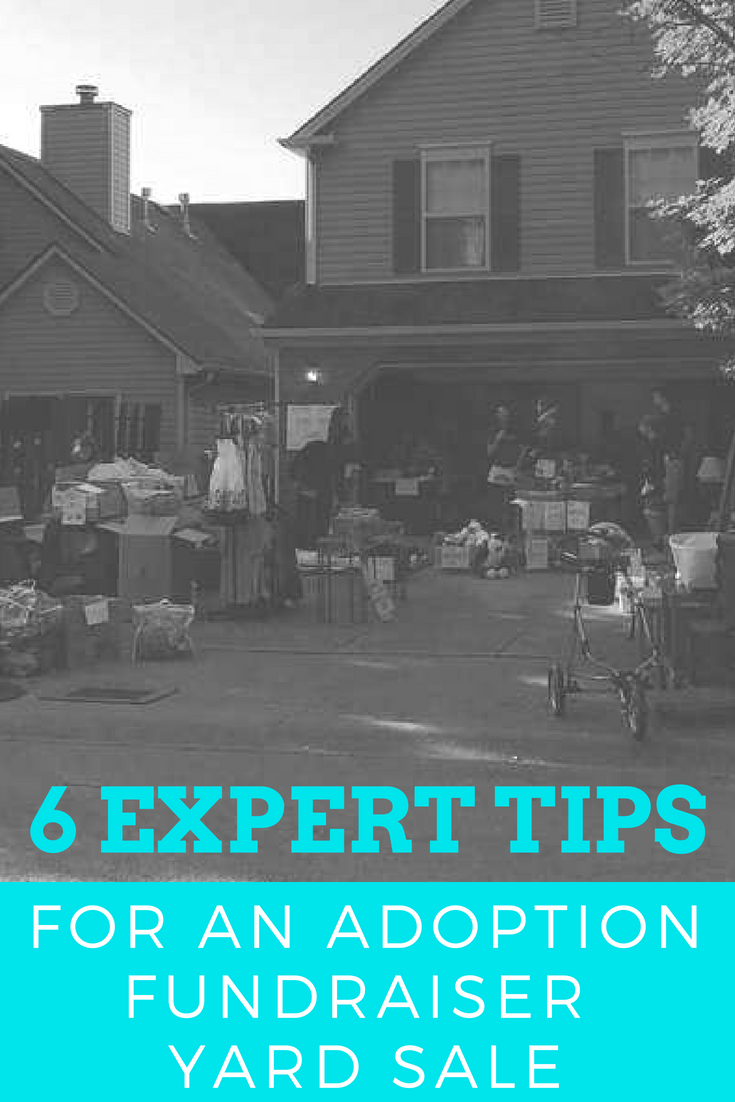 6 Expert Tips for a Successful Adoption Fundraiser Yard Sale