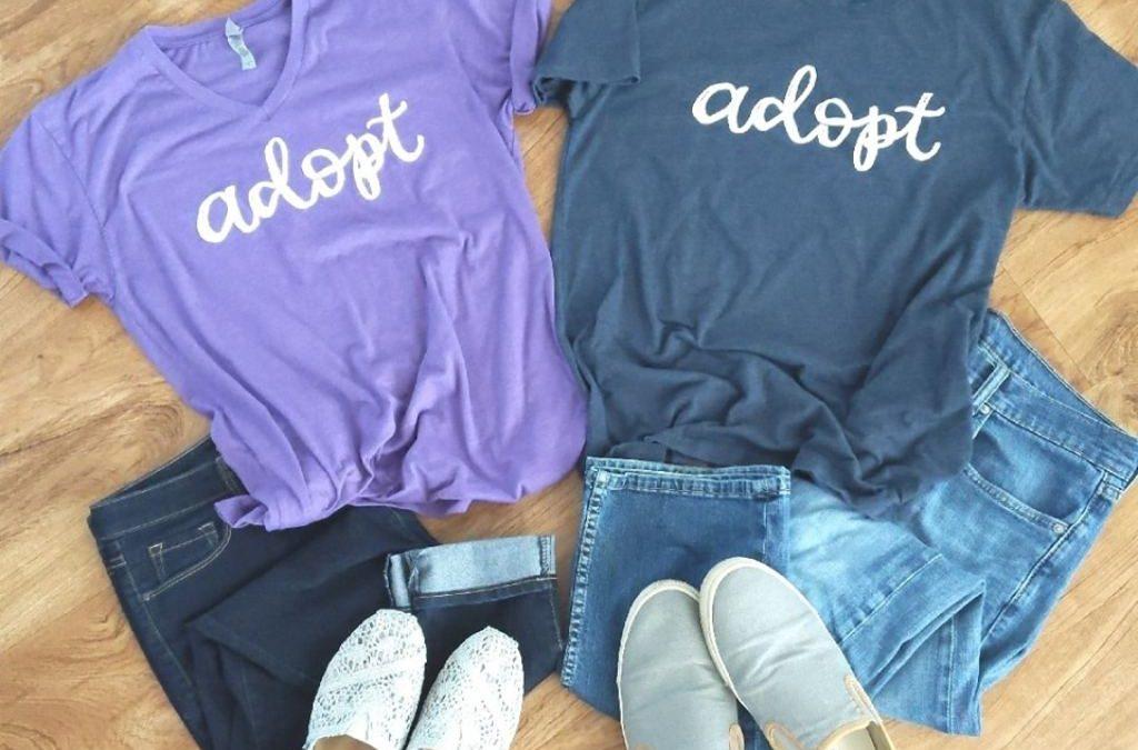 de8d18f9 How to Make Money with an Adoption T-Shirt Fundraiser ...